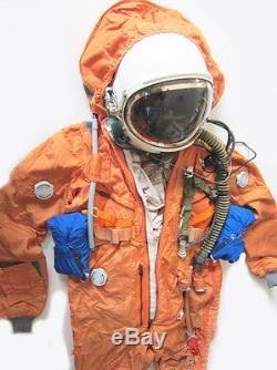 Spacesuit Flight Helmet Airtight Astronaut Pilot Helmet Flying Suit P-4# 0104