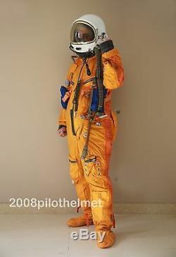 Spacesuit Flight Helmet Airtight Astronaut Pilot Helmet Flying Suit P-6# 6# 6#