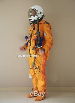 Spacesuit Flight Helmet Airtight Astronaut Pilot Helmet Flying Suit- P-7#