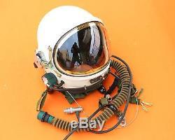 Spacesuit Flight Pilot Helmet Air Force Astronaut High Attitude Flight Suit O#