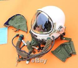 Spacesuit Flight Pilot Helmet Air Force Astronaut High Attitude Flight Suit O# O