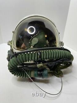 TK-4A Flight Helmet Fighter Helmet High Altitude Astronaut Space Pilot Pressured