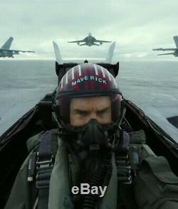 TOP GUN 2 MAVERICK HGU type FLIGHT HELMET MOVIE PROP PILOT NAVAL AVIATOR USN