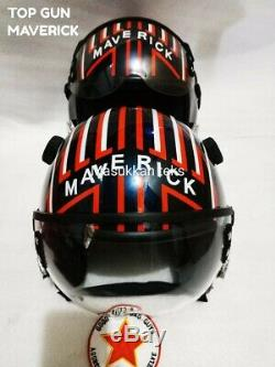 TOPGUN New Maverick FLIGHT HELMET HGU 55 Style FIGHTER PILOT HELMET Style