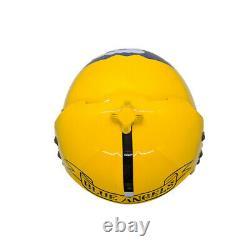 The Blue Angels Flight Helmet Prop Pilot Naval Aviator USN Navy Chrome Receiver