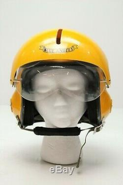 The Blue Angels Flight Helmet Prop Pilot Naval Aviator Usn Navy For Charity