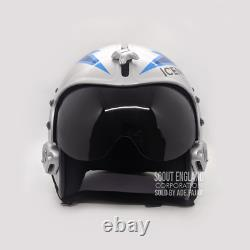 Top Gun Iceman Flight Helmet Movie Prop Of Usn United States Navy Pilot Aviator