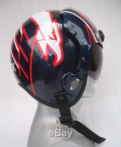 Top Gun Maverick Flight Helmet Movie Prop Pilot Naval Aviator Usn Navy