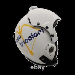 Top Gun Tricolori Flight Helmet Movie Prop Pilot Naval Aviator Usn Navy