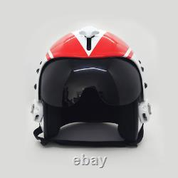 Top Gun Wolfpack Flight Helmet Movie Prop Pilot Naval Aviator Usn Navy