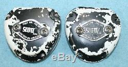 Two (2) Scott ATO #345-301 Ox Rec for Pilot's Flight Helmet NSN1660-00-440-5553