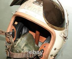 US Air Force 1950s FIGHTER PILOT THE PRINCE CALLSIGN GENTEX P-4A FLIGHT HELMET