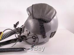 US Air Force HGU-55P Flight Helmet DCS BMS Fighter Pilot with Mask MBU 20 Gentex
