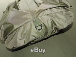 US Air Force USAF GWOT PILOT STYLE COCKPIT OD NYLON FLIGHT HELMET BAG MINT Pack