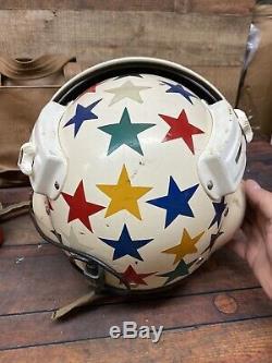US Air Force USAF Medic Pilot Flight Deck Crewman & Original Helmet With Bag