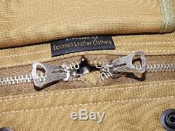 US Army AAF WW2 EASTMAN PILOT KHAKI AVIATOR'S KIT BAG Flight Jacket Helmet Pack