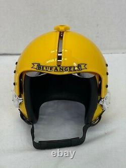US Navy Blue Angels Pilot Signed Mini Flight Helmet