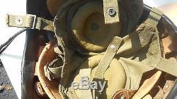 US Navy H-4 Pilot Flight Helmet Size Large Rare Maker