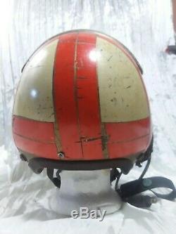 US Navy Vietnam Era Flight Pilot Helmet Jet Fighter 60s