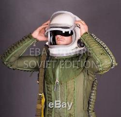 US SELLER Original Russian USSR pilot flight helmet GSH 6 size2 space air force