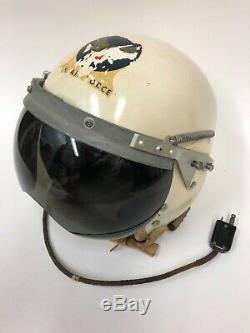 USAF Air Force Pilot Flight Helmet P1 P-1 converted Early no rail P4 P-4 RARE