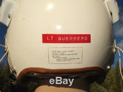 USAF Fliegerhelm HGU-2A/P Flight Helmet Pilotenhelm Casque Pilote Named Pilot US
