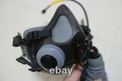 USAF GENTEX MBU-20P Pilot flight helmet Oxygen Mask Size Medium Wide 68 55p