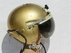 USAF MB-4 Flight Helmet Named Vietnam War Pilot 1957 P-4A LARGE F-4 F-100 F-101