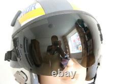 USAF Pilot Flight Helmet Hgu-55/p Black Sunvisor