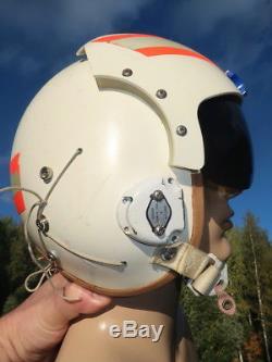USAF Pilotenhelm HGU-2A/P Fliegerhelm MEDIUM Flight Helmet Pilot Single Visor US