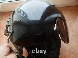 USSR aircraft pilot flight helmet Air Force Original used