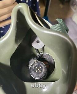 Usaf Mbu Oxygen Mask Facepiece Adapter Hose Pilot Flight Helmet Long Narrow