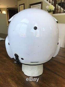 Used Civilian Hgu56 Gentex Flight Helmet, Nvg Hgu 56 Helicopter Pilot Commercial