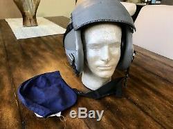 Used Hgu55 Gentex Fighter Pilot Flight Helmet Hgu 55/p XL Combat Edge Mbu20p Jet