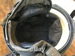 Used Sph-4 Pilot Flight Helmet Lip Light Sidecar Nvg Mount For Repair Cosplay