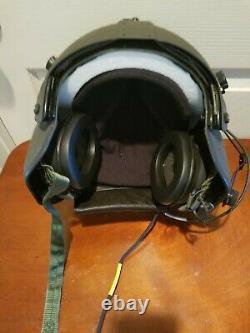 Used Xsmall Hgu56p Helicopter Pilot Flight Helmet Hgu 56