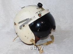 VTG 50's US Air Force Named Selby Shoe Co. F-86 P-3 PILOT FLIGHT HELMET with Bag