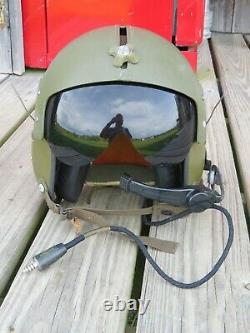 Vietnam Era Helicopter & OV-1 Pilot's Gentex APH-5A Flight Helmet