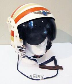 Vietnam War Era U. S. Navy Pilot's APH-6/C Dual Visor Flight Helmet, Size Large