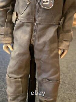 Vintage GI JOE 1964 Fighter Pilot / G pants Helmet, Visor Flight Suit Aw