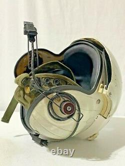 Vintage Gentex SPH-3 US Navy Helicopter Pilot Flight Helmet, Bag