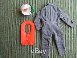 Vintage Gi Joe Action Pilot Flight Suit, Air Vest and Crash Helmet