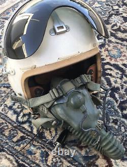 Vintage U S Air Force Flight Pilot Helmet