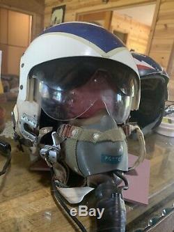 Vintage Vietnam Era Fighter Pilot's Flight Helmet