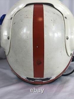 Vintage Vietnam Era US Navy Sierra APH5-6 Flight Pilot Helmet Large