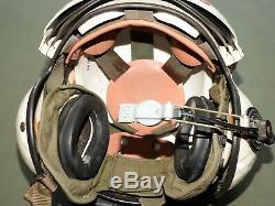 Vtg USMC Marine HMH-363 HELICOPTER PILOT GENTEX SPH-3C RAMS HORN FLIGHT HELMET