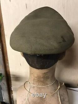 WW2 pilots Crusher Cap Hat US Army Air Corps Flight Helmet Named Set