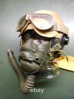 Wwii Us Flight Helmet Pilot Bomber Aaf Usaf Hgu Sph